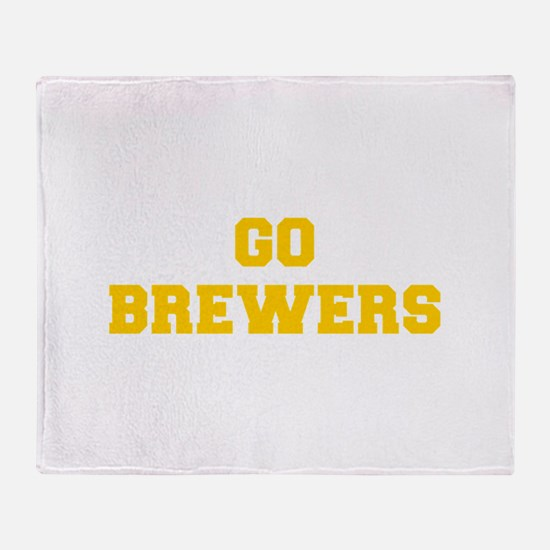 Bronchos-Fre blue Throw Blanket