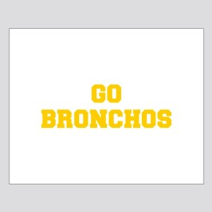 Bronchos-Fre yellow gold Posters