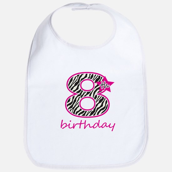 8th Birthday Bib