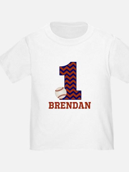 First Birthday Baseball T-Shirt