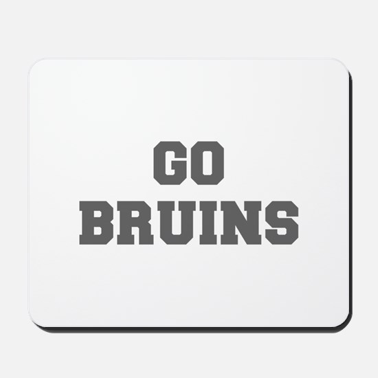 BRUINS-Fre gray Mousepad