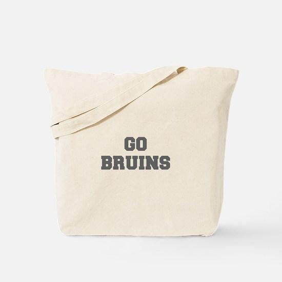 BRUINS-Fre gray Tote Bag
