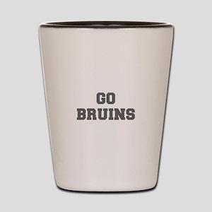 BRUINS-Fre gray Shot Glass