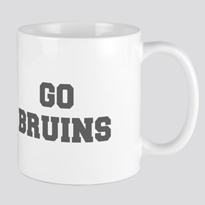 BRUINS-Fre gray Mugs