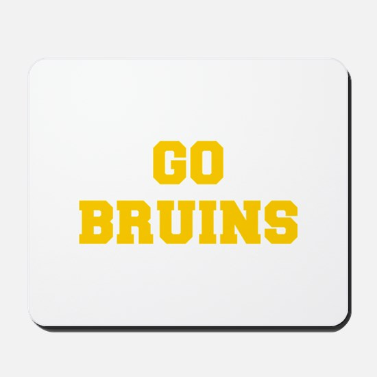 Bruins-Fre yellow gold Mousepad
