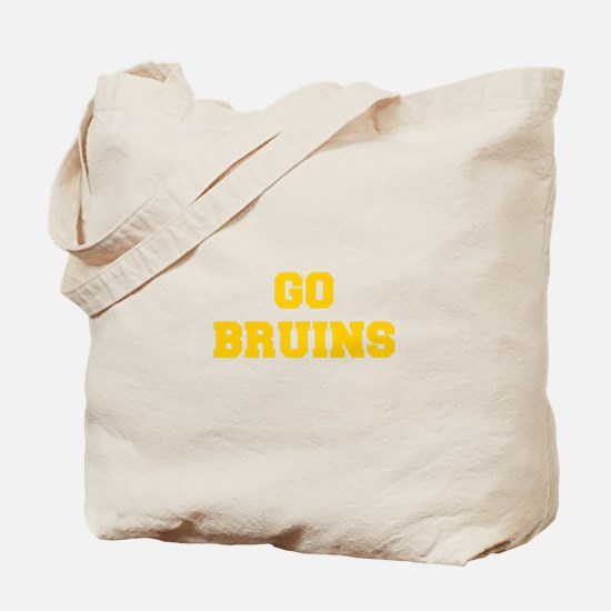 Bruins-Fre yellow gold Tote Bag