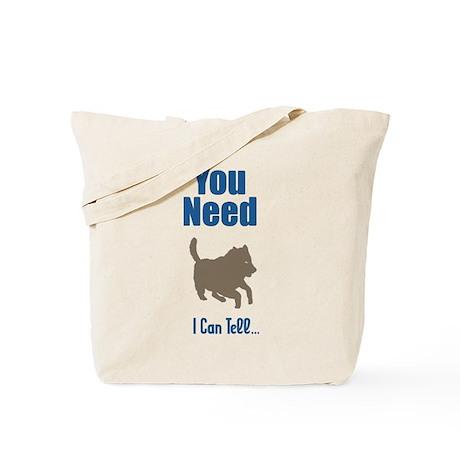 American Indian Dog Tote Bag