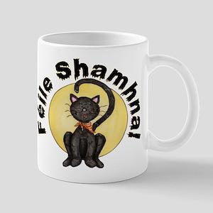Gaelic Black Cat Mug