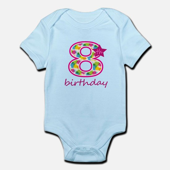 8th Birthday Body Suit
