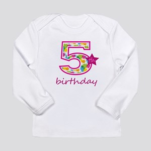 5th Birthday Long Sleeve T-Shirt