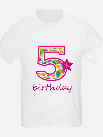 5th Birthday T-Shirt