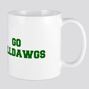 Bulldawgs-Fre dgreen Mugs
