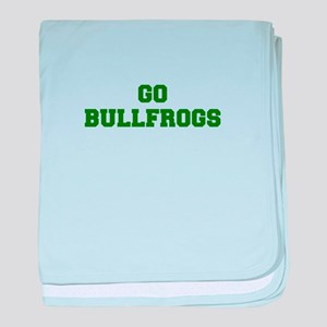 Bullfrogs-Fre dgreen baby blanket