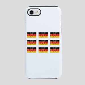 Germay Flags iPhone 7 Tough Case