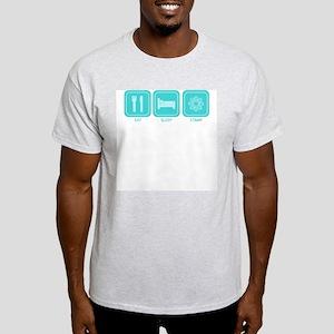 Eat, Sleep, Stamp Ash Grey T-Shirt