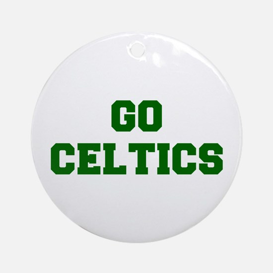 Celtics-Fre dgreen Ornament (Round)