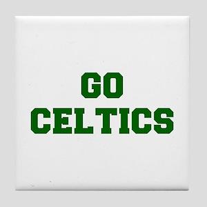 Celtics-Fre dgreen Tile Coaster