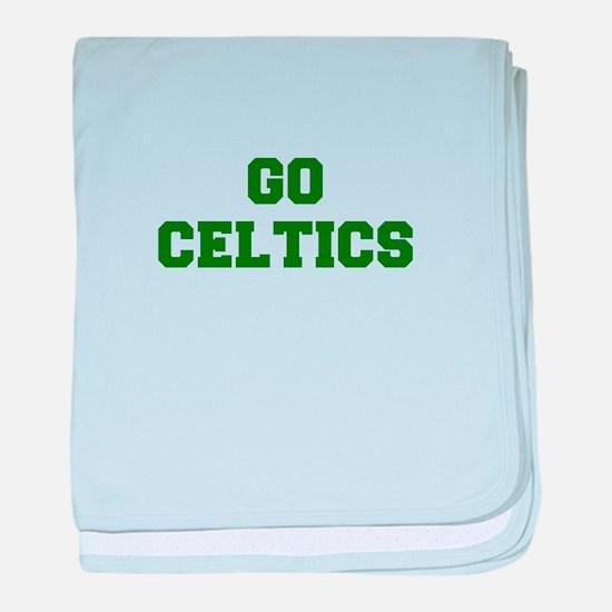 Celtics-Fre dgreen baby blanket