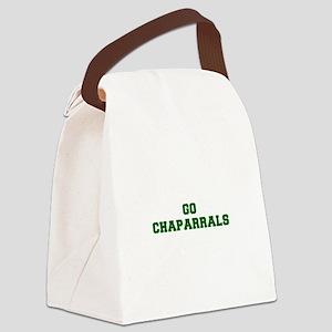 Chaparrals-Fre dgreen Canvas Lunch Bag