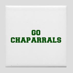 Chaparrals-Fre dgreen Tile Coaster