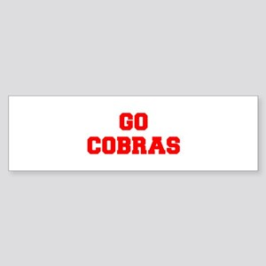 COBRAS-Fre red Bumper Sticker