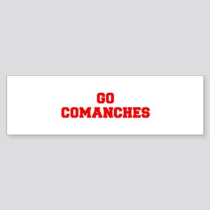 COMANCHES-Fre red Bumper Sticker