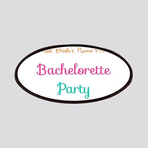 Personalized Bachelorette Party Patch