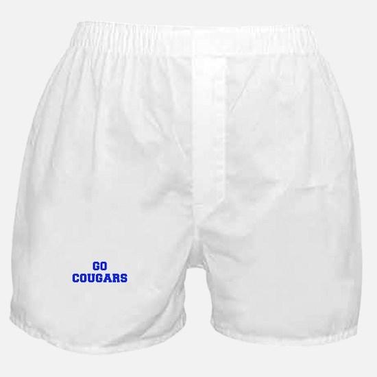Cougars-Fre blue Boxer Shorts