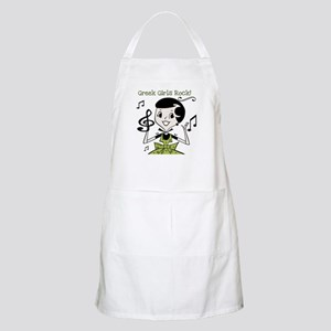 Greek Girls Rock BBQ Apron