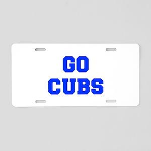 Cubs-Fre blue Aluminum License Plate