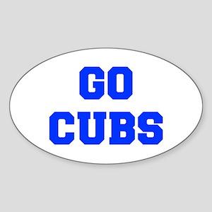 Cubs-Fre blue Sticker