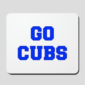 Cubs-Fre blue Mousepad
