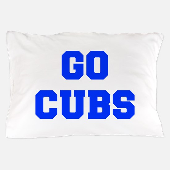 Cubs-Fre blue Pillow Case