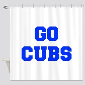 Cubs-Fre blue Shower Curtain