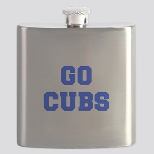 Cubs-Fre blue Flask