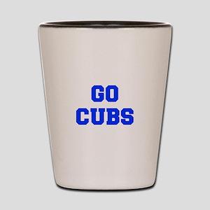 Cubs-Fre blue Shot Glass