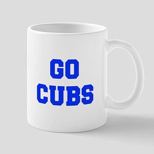 Cubs-Fre blue Mugs