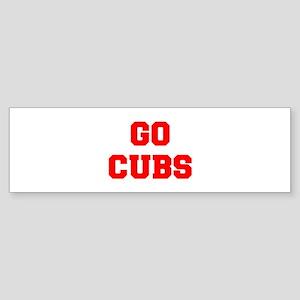 CUBS-Fre red Bumper Sticker