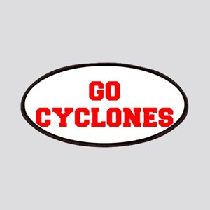 CYCLONES-Fre red Patch