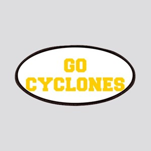 Cyclones-Fre yellow gold Patch