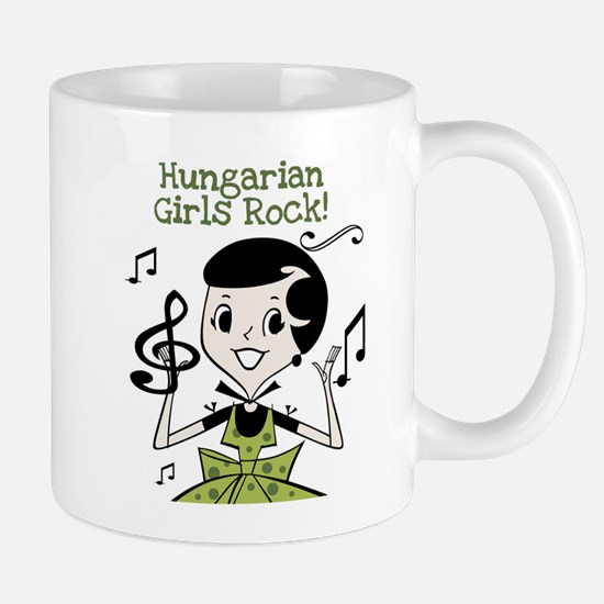 Hungarian Girls Rock Mug