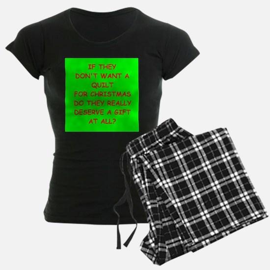 quilt Pajamas