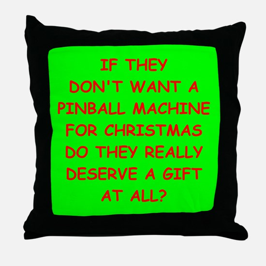 pinball Throw Pillow