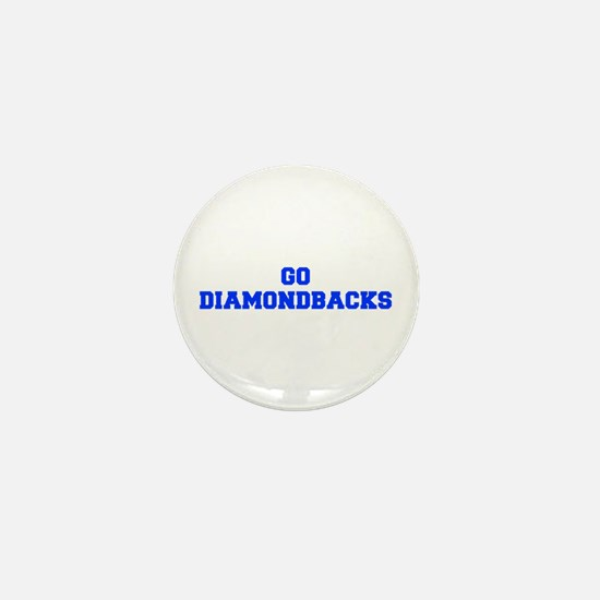 diamondbacks-Fre blue Mini Button