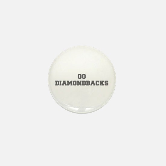 DIAMONDBACKS-Fre gray Mini Button