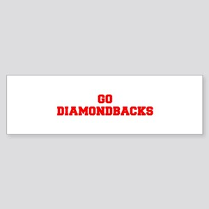 DIAMONDBACKS-Fre red Bumper Sticker