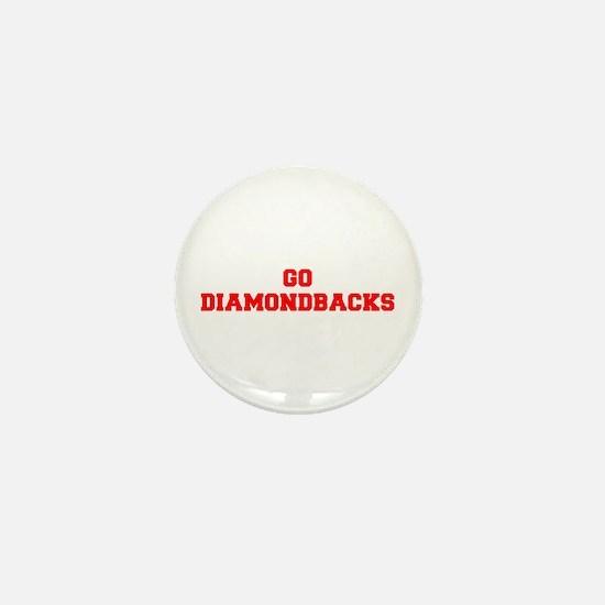 DIAMONDBACKS-Fre red Mini Button