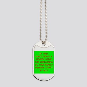 hockey Dog Tags