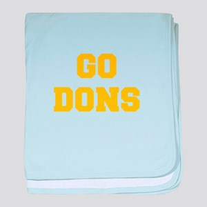 Dons-Fre yellow gold baby blanket