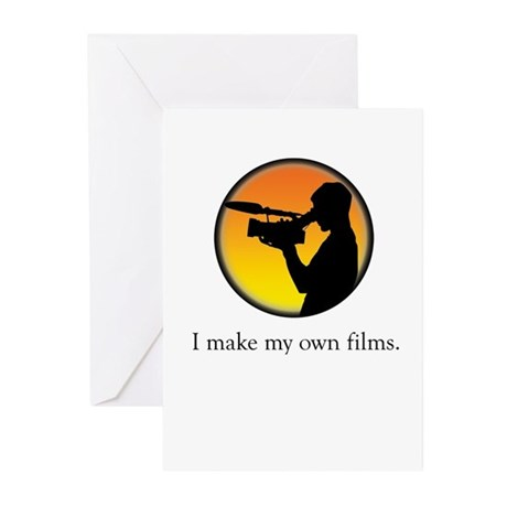 I make my own films Greeting Cards (Pk of 10)